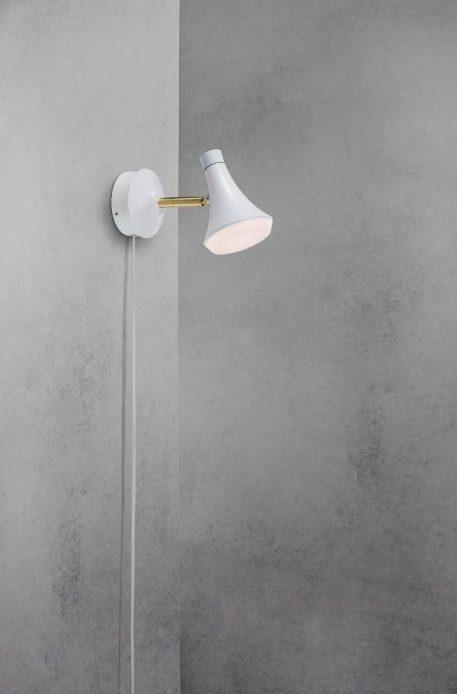 Sleeky  Lampa nowoczesna – Styl nowoczesny – kolor biały