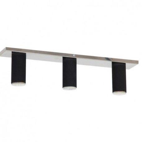 Slim  Lampa sufitowa – Styl nowoczesny – kolor srebrny, Czarny