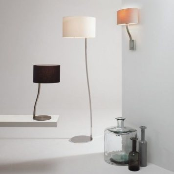 Sofia Lampa modern classic – Z abażurem – kolor srebrny