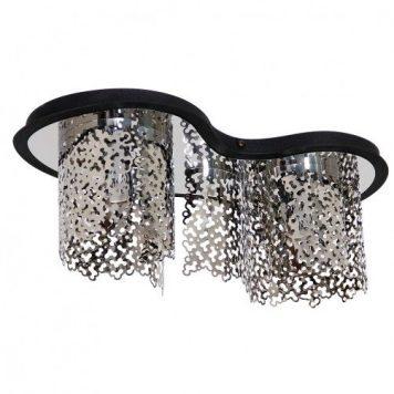 Sokeri  Lampa sufitowa – Styl nowoczesny – kolor srebrny