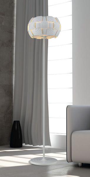 Sole Lampa skandynawska – Styl nowoczesny – kolor biały