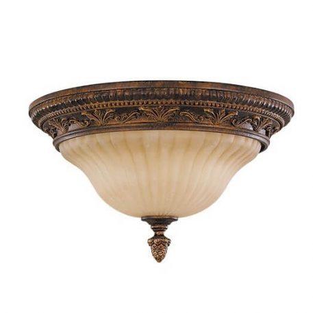 Sonoma Lampa sufitowa – Plafony – kolor beżowy, brązowy