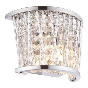 Sophia  Lampa glamour – kryształowe – kolor srebrny