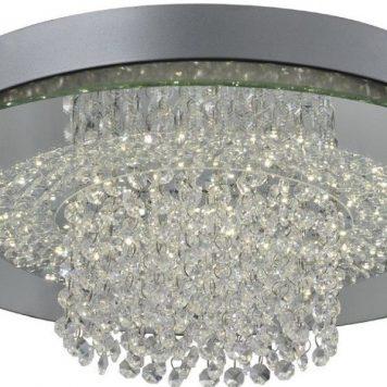 Sophia  Lampa nowoczesna – Styl glamour – kolor srebrny