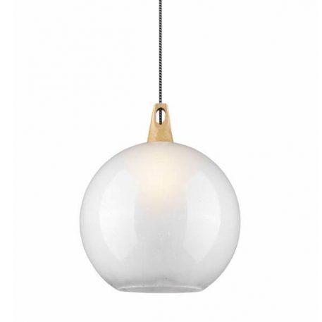 Soweto Lampa wisząca – szklane – kolor biały