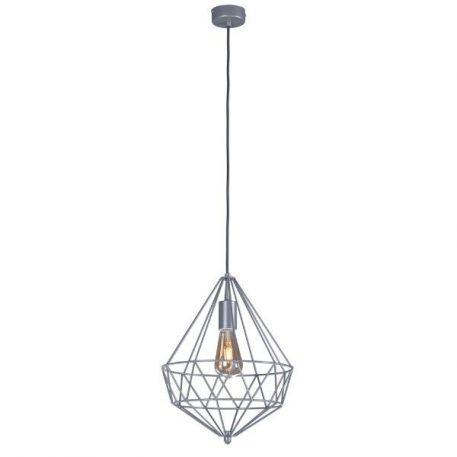 Spark  Lampa wisząca – industrialny – kolor srebrny
