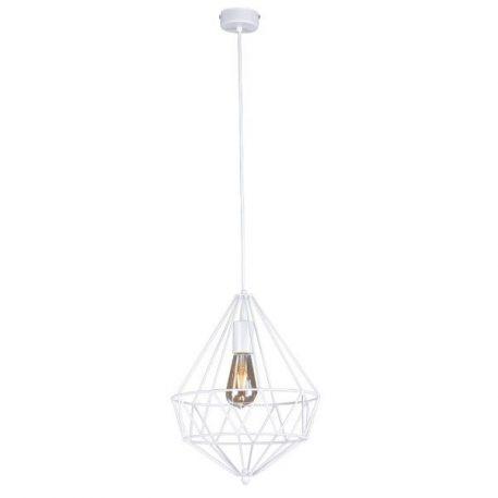 Spark Lampa wisząca – Styl skandynawski – kolor biały