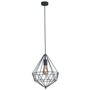 Spark  Lampa wisząca – Styl skandynawski – kolor Czarny