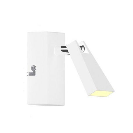 Spazio Lampa nowoczesna – Do czytania – kolor biały