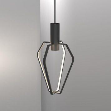 Spider  Lampa wisząca – Lampy i oświetlenie LED – kolor Czarny