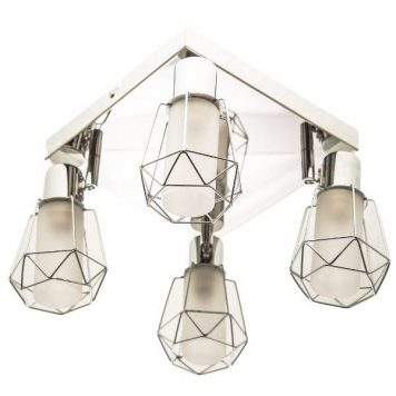 Spirit Lampa sufitowa – Styl nowoczesny – kolor srebrny