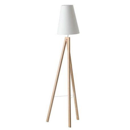 Splitit Lampa skandynawska – Styl nowoczesny – kolor biały, brązowy