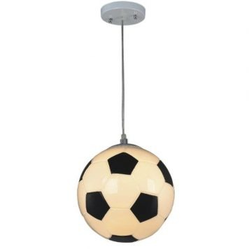 Sport Lampa wisząca – Styl nowoczesny – kolor biały, Czarny