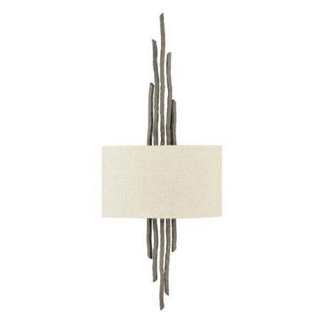 Spyre Lampa nowoczesna – Z abażurem – kolor beżowy, brązowy