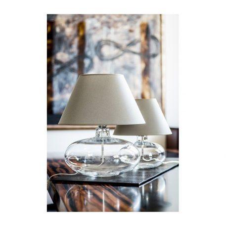 Stockholm  Lampa nowoczesna – Z abażurem – kolor beżowy, transparentny