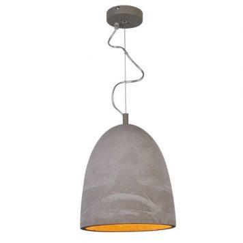 Stone Lampa wisząca – industrialny – kolor Szary