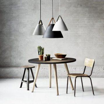 Strap  Lampa wisząca – Styl nowoczesny – kolor srebrny