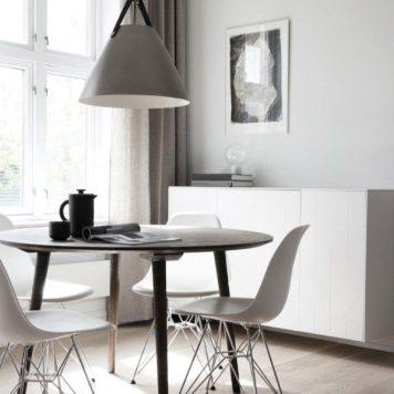 Strap  Lampa wisząca – Styl skandynawski – kolor srebrny