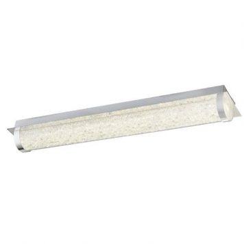 Suprimo Lampa sufitowa – szklane – kolor srebrny, transparentny