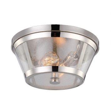 Sutton Lampa sufitowa – klasyczny – kolor srebrny, transparentny