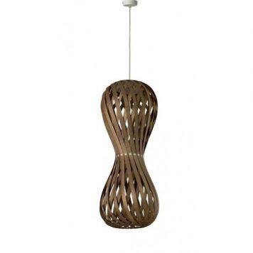 Swing  Lampa wisząca – Styl skandynawski – kolor brązowy, mat