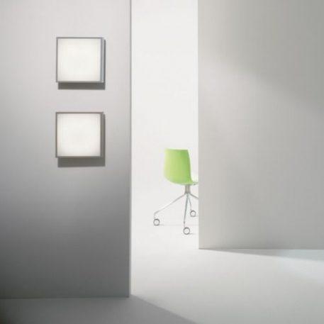 Taketa Lampa sufitowa – Styl nowoczesny – kolor biały, srebrny