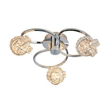 Talia  Lampa sufitowa – Styl nowoczesny – kolor srebrny