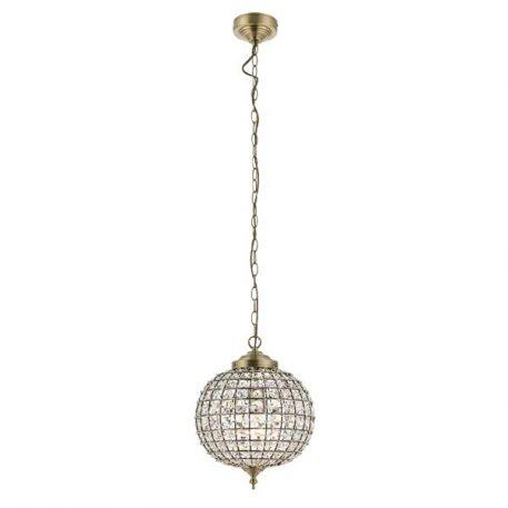Tanaro Lampa wisząca – kryształowe – kolor złoty