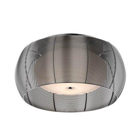 Tango Lampa sufitowa – szklane – kolor srebrny