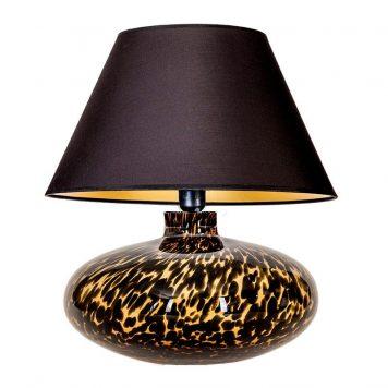 Tanzania  Lampa nowoczesna – szklane – kolor beżowy, Czarny