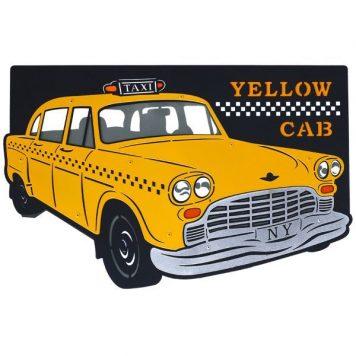 Taxi  Lampa nowoczesna – Styl nowoczesny – kolor żółty, Czarny