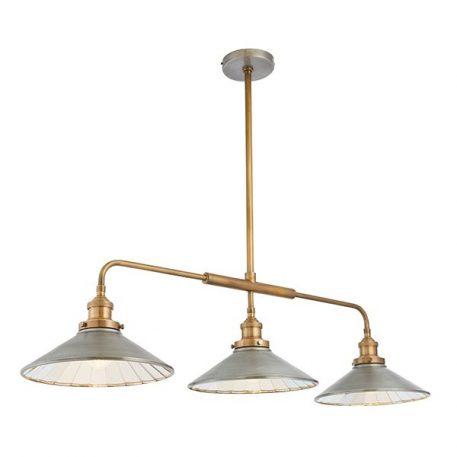 Tayas  Lampa wisząca – klasyczny – kolor mosiądz, srebrny