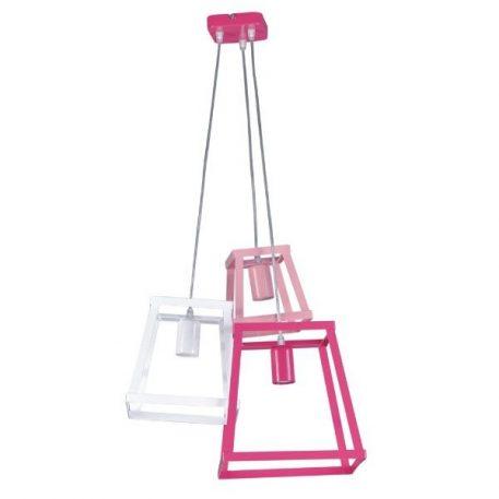 Tedy  Lampa wisząca – Styl nowoczesny – kolor różowy