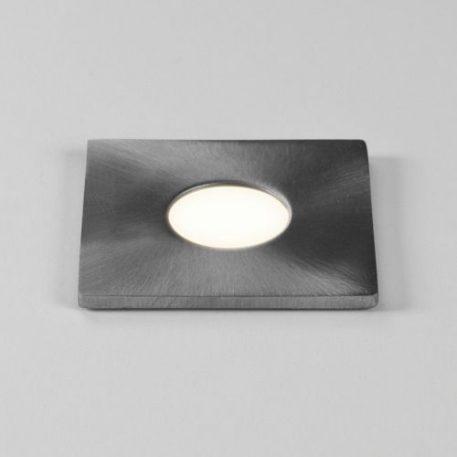 Terra Sguare Oczko/spot – Styl nowoczesny – kolor srebrny