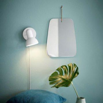 Texas Lampa skandynawska – Do czytania – kolor biały