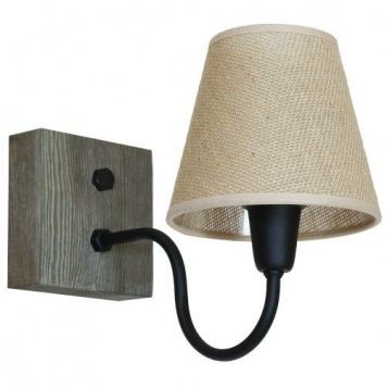 Thor  Lampa klasyczna – klasyczny – kolor beżowy, brązowy