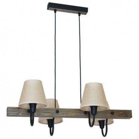 Thor  Lampa wisząca – industrialny – kolor beżowy, brązowy