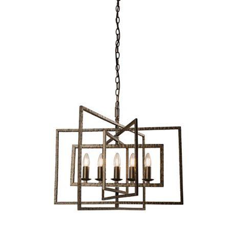 Tibbet  Lampa wisząca – klasyczny – kolor brązowy