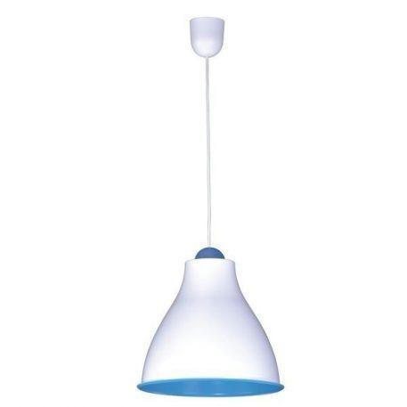 Tindori Lampa wisząca – Styl nowoczesny – kolor biały, Niebieski