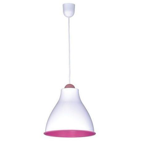 Tindori Lampa wisząca – Styl nowoczesny – kolor biały, różowy