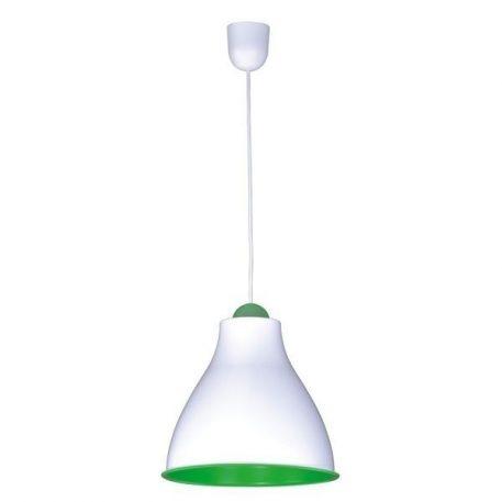 Tindori Lampa wisząca – Styl nowoczesny – kolor biały, Zielony
