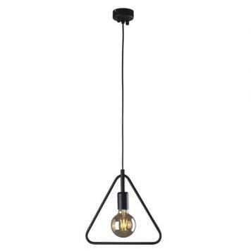 Tobik Lampa wisząca – industrialny – kolor Czarny