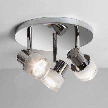 Tokai Lampa sufitowa – Styl nowoczesny – kolor srebrny, transparentny