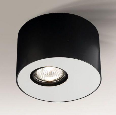 TOKI Lampa sufitowa – Styl nowoczesny – kolor biały, Czarny