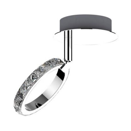 Toledo Lampa nowoczesna – Styl nowoczesny – kolor srebrny