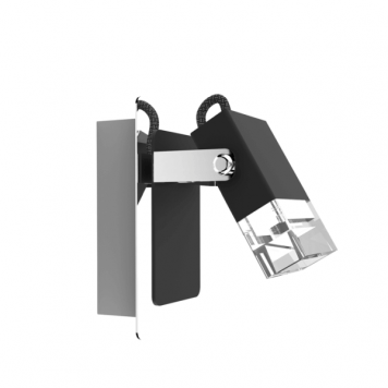 Tolo Lampa nowoczesna – Styl nowoczesny – kolor srebrny, Czarny