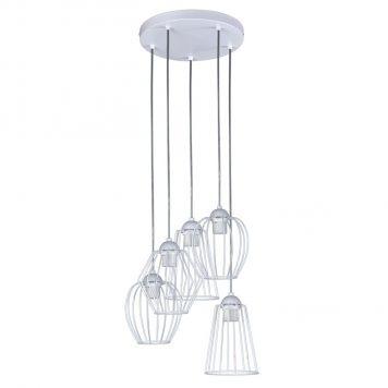 Topper  Lampa wisząca – Styl skandynawski – kolor biały
