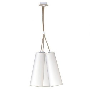 Torch Lampa wisząca – Styl nowoczesny – kolor biały