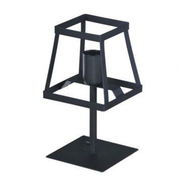 Tower Lampa skandynawska – industrialny – kolor Czarny
