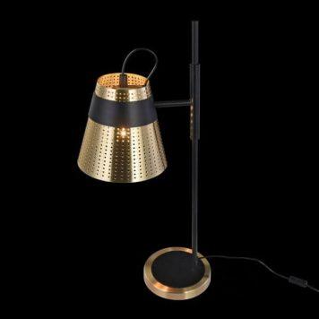 Trento Lampa stołowa – industrialny – kolor złoty